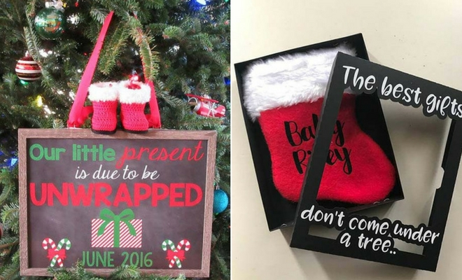 21 Christmas Pregnancy Announcement Ideas Page 2 Of 2