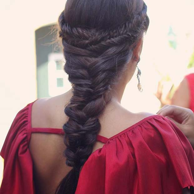 Beautiful Multi Braided Hair Idea