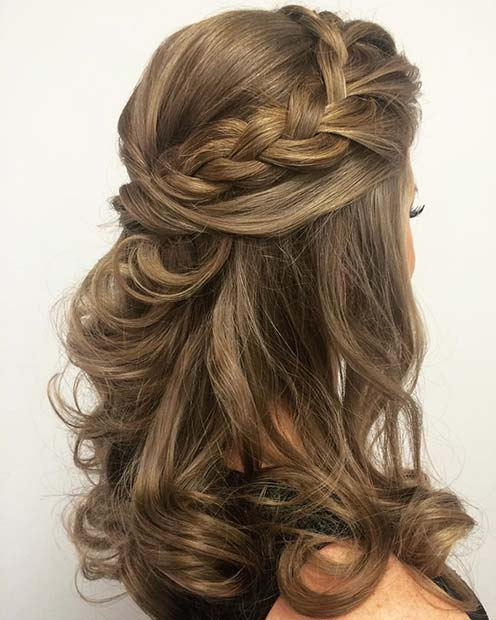 Braided Prom Hair Idea