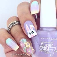 21 Cute Easter Nail Designs for 2018 | StayGlam