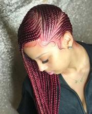 lemonade inspired braids