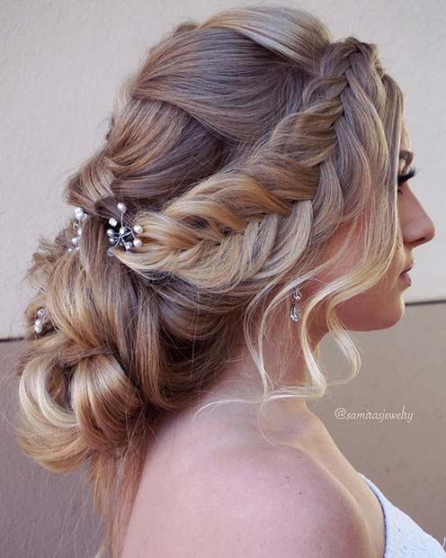 30 Formal Hairstyles 2018 Using Hairpieces Hairstyles Ideas