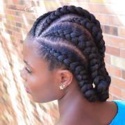 ways rock feed in braids