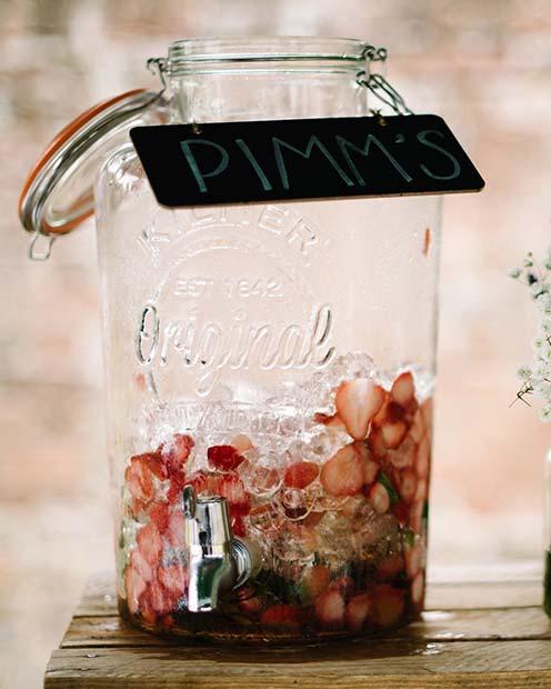 Summer Wedding Cocktail Idea