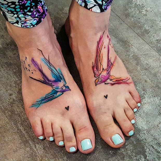 25 Awesome Foot Tattoos for Women