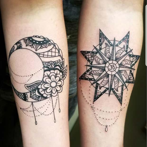 Unique Bff Tattoo Designs