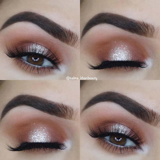 Elegant Glitter Eyes