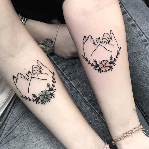 Best Friends Tattoos Ideas