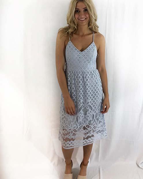 Light Lace Summer Dress Idea