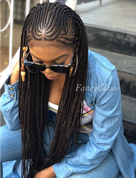 23 Trendy Ways To Rock African Braids Page 2 Of 2 StayGlam