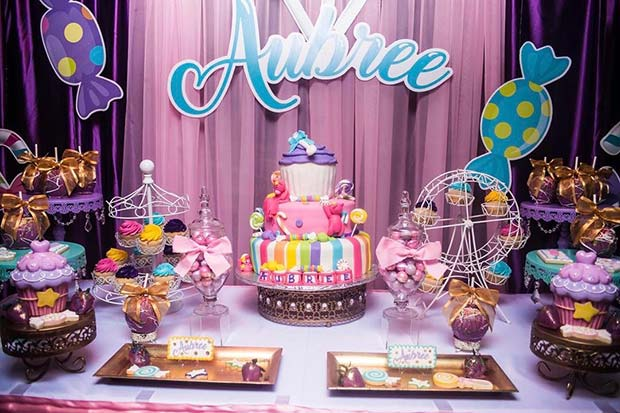 Candyland Baby Shower Theme For Girls