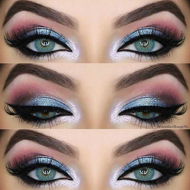 Summer Night Out Makeup Idea