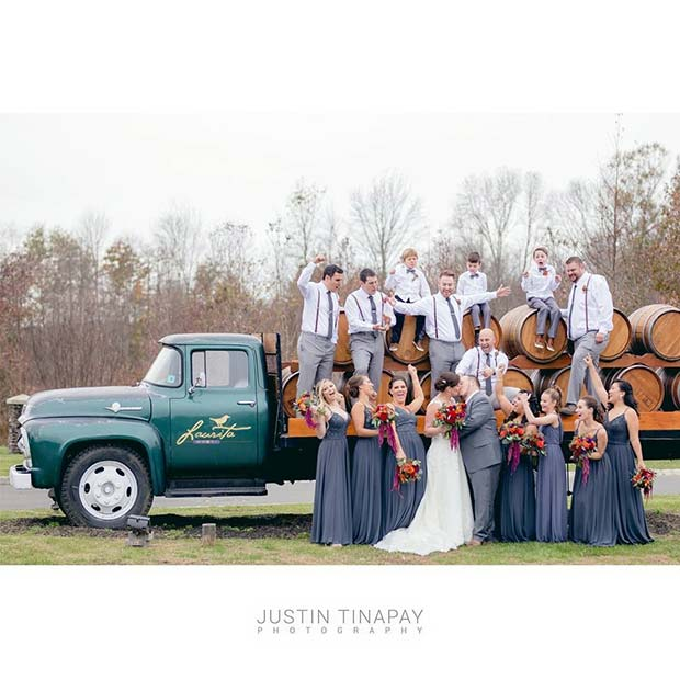 Vineyard Outdoor Wedding Idea