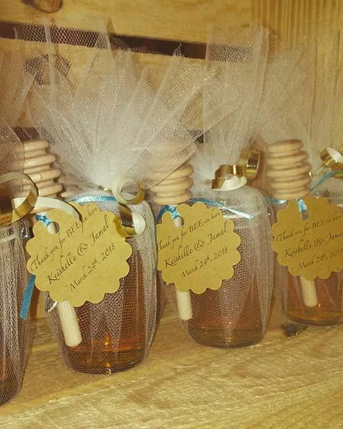 Honey Baby Shower Favor Idea