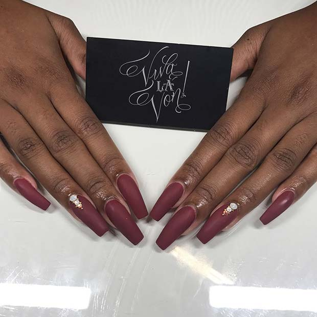 11 Matte Coffin Nails You Need to Try this Summer - crazyforus