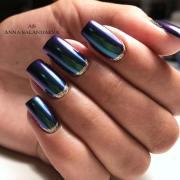 cool ways rock chrome nails