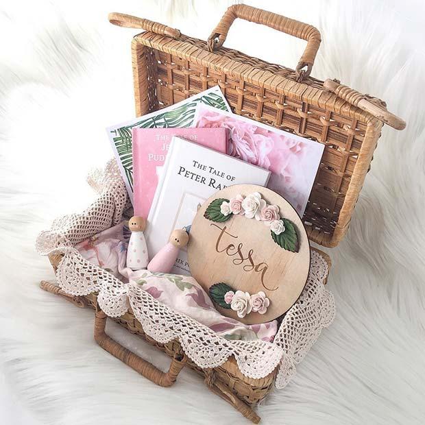 DIY Book Gift Basket