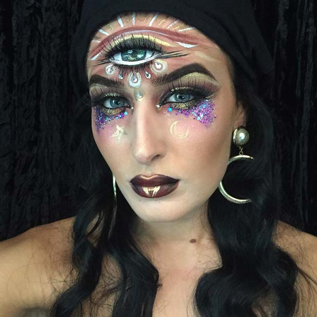 Fortune Teller Easy Halloween Costume