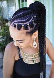 braided ponytail hairstyles