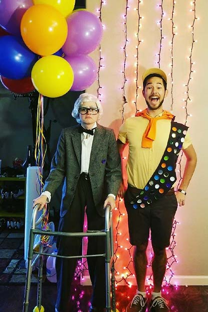 Up Inspired Couples Halloween Costumes