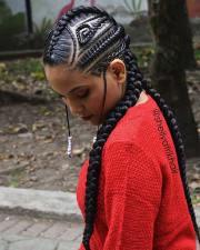 badass tribal braids hairstyles