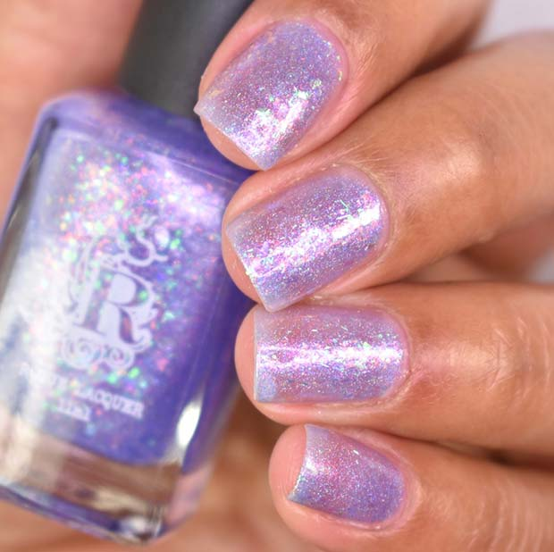 Magical Shimmery Nails