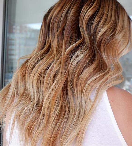Multi Tone Blonde Hair Idea