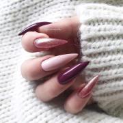 23 - rose gold nail art