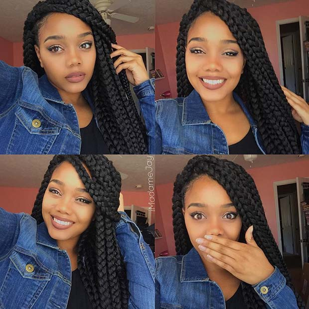 Crochet Jumbo Box Braids