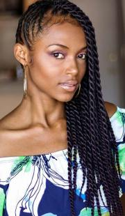 eye-catching twist braids hairstyles