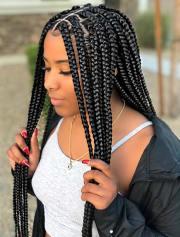 crochet box braids hairstyles