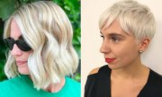 trendy short blonde hair ideas