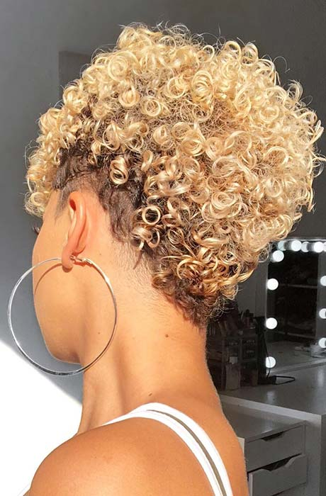 51 Best Short Natural Hairstyles For Black Women Page 4 Of 5