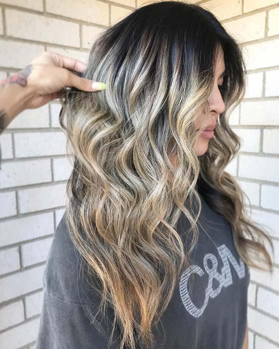 Black to Bright Blonde Hair