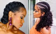 easy ways wear natural hair