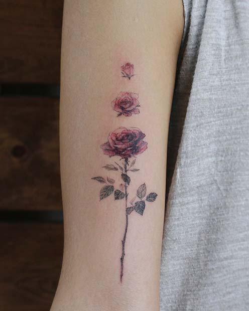Cool Flower Tattoos : flower, tattoos, Beautiful, Flower, Tattoos, Women, StayGlam