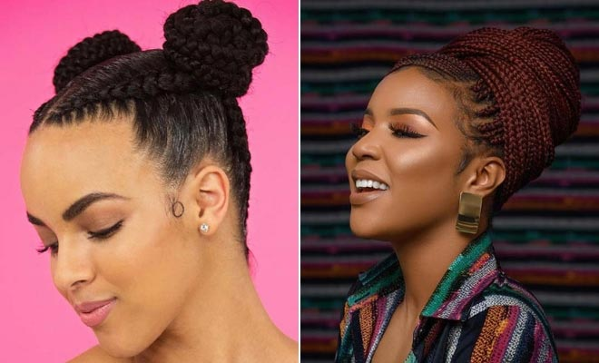 23 Beautiful Braided Updos For Black Hair Page 2 Of 2 Stayglam