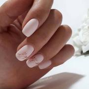 pretty wedding nail ideas