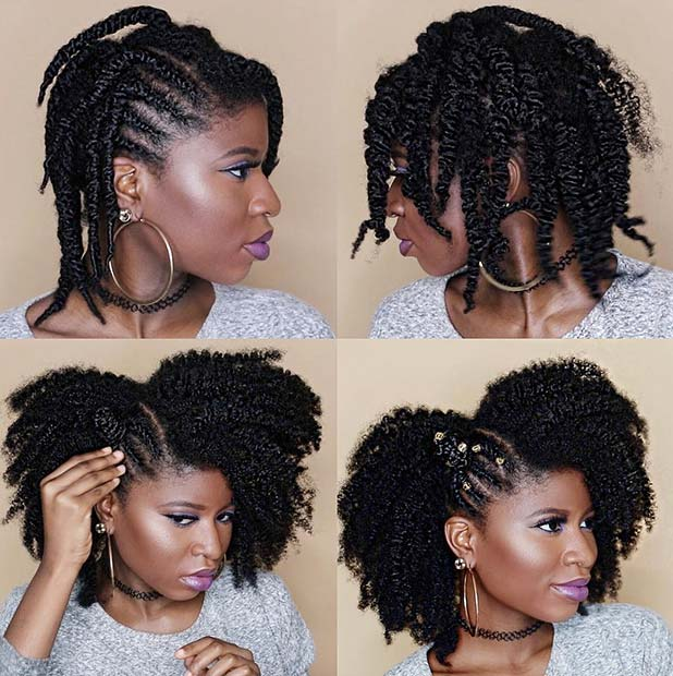 Shop Black Hair Natural Styles 61 Off Online