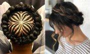 pretty halo braid hairstyles