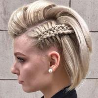 23 Quick and Easy Braids for Short Hair | StayGlam