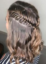 quick and easy braids short