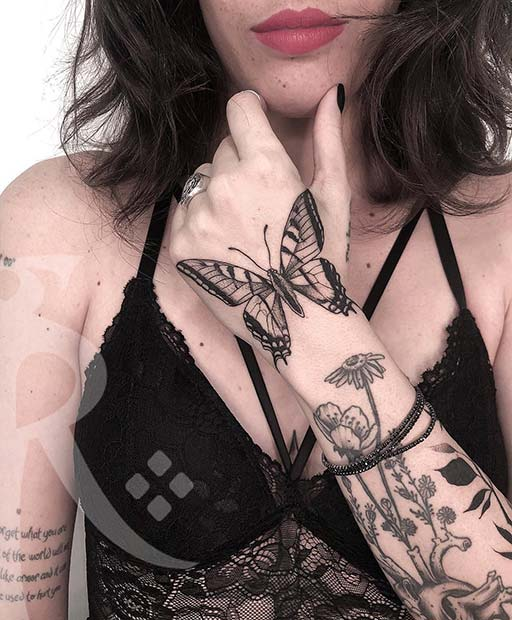 Edgy Tattoo Designs : tattoo, designs, Pretty, Butterfly, Tattoo, Designs, Placement, Ideas, StayGlam