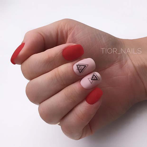Geometric Nail Idea