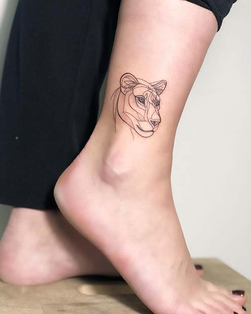 Pretty Ankle Tattoos Every Woman Would Want Crazyforus