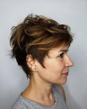 short and long pixie cuts
