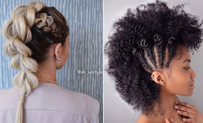 23 Mohawk Braid Styles That Will Get You Noticed Stayglam