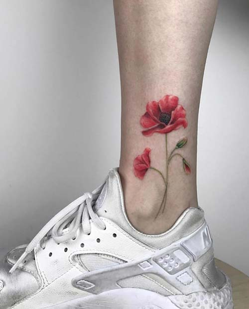 Ankle Tattoos You Ll Consider For Your Next Ink Decision Crazyforus