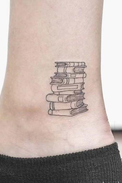 Tiny Book Tattoo Idea