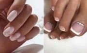 pretty wedding nail ideas